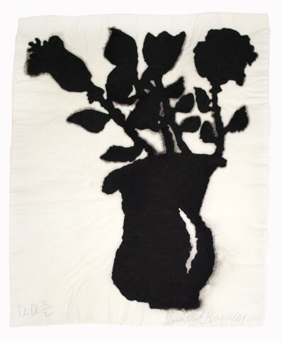 Donald Baechler, 'Untitled (Linen Flower #3)', 2004
