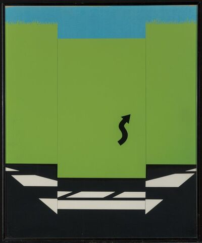 Allan D'Arcangelo, 'Highway and Landscape I and II, from 11 Pop Artists Volume I, II, and III (three works)', 1965