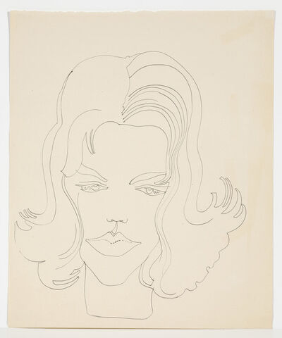 Andy Warhol, 'UNIDENTIFIED FEMALE', ca. 1960