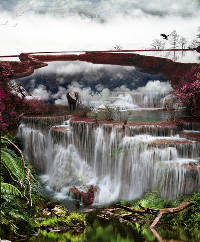 Laurent de Posson, 'Waterfalls in a Little Big World', 2019