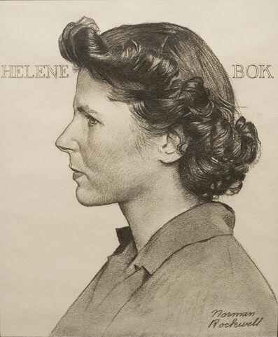 Norman Rockwell, 'Portrait of Helene Bok', ca. 1944