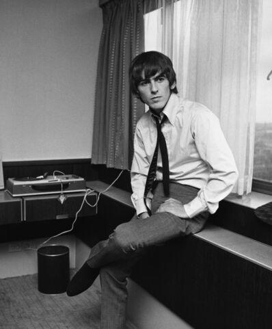 Harry Benson, 'George Harrison in Copenhagen', 1966