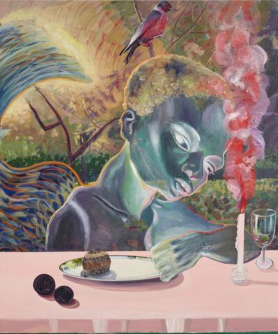 Ndidi Emefiele, 'Celestial diners III', 2020
