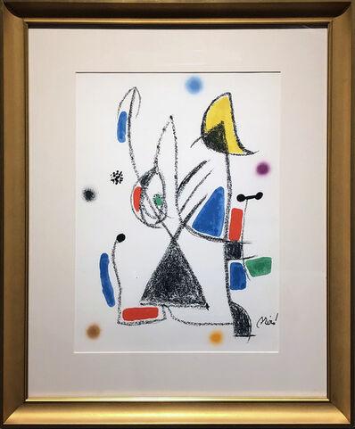 Joan Miró, 'Maravillas con variaciones acrósticas en el jardín de Miró (XVI)', 1975