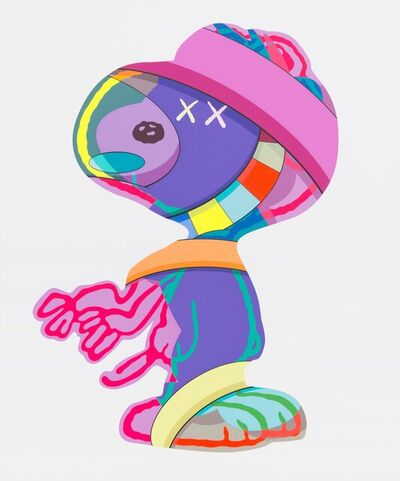KAWS, 'Snoopy(the things that comfort)', 2015