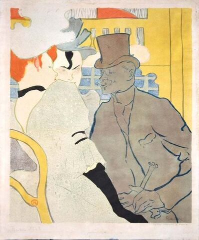 Henri de Toulouse-Lautrec, ' Englishman at the Moulin Rouge', 1892
