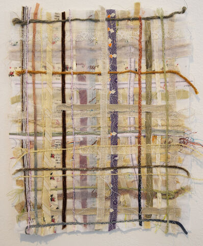 Alyson Vega, 'Small Mauve Grid', 2018