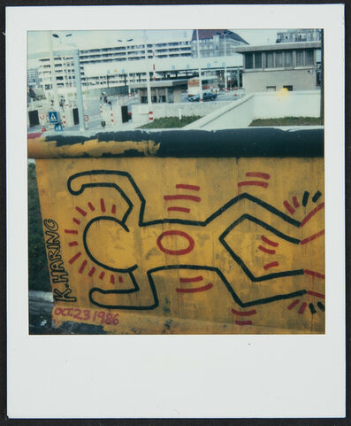 Keith Haring, 'Berlin Wall Mural at Checkpoint Charlie', 1986