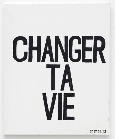 JIM JOE, 'CHANGER TA VIE', 2017