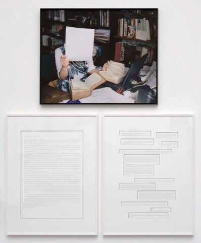 Sophie Calle, 'Take care of yourself. Latinist, Anne Marie Ozanam', 2007
