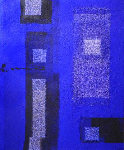 Katsuyoshi Inokuma, 'IN BLUE Sep '16', 2016