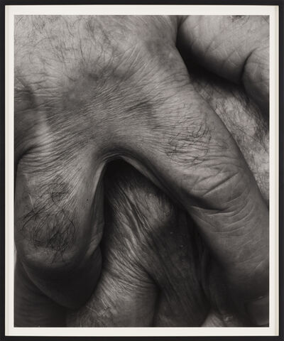 John Coplans, 'Interlocking Fingers, No. 14', 1999