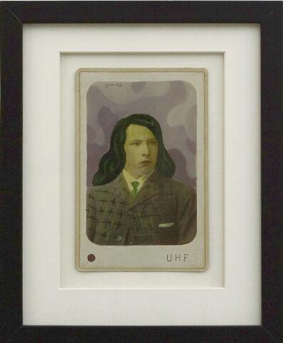 Alex Gross, 'Untitled (wig guy)', 2011