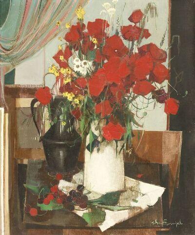 Robert Vernet-Bonfort, 'A STILL LIFE OF FLOWERS IN A VASE'