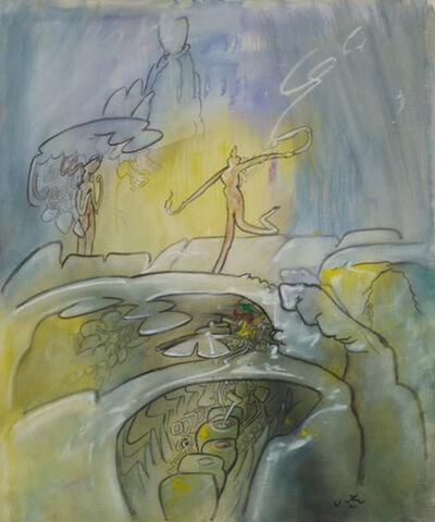 Roberto Matta, 'VOIR L'INTELLIGENCE', 1973