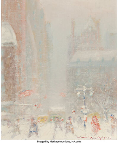 Johann Berthelsen, '5th Avenue in Winter'