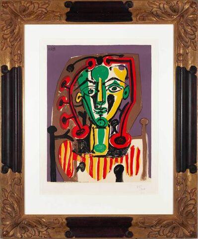Pablo Picasso, 'Le corsage rayé ', Date of publication: 1978