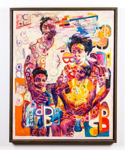 Wadsworth Jarrell, 'Black Family', 1968