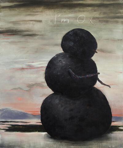 Kevin Sloan, 'Saint Snow', 2017
