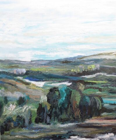Kim Ford Kitz, 'Hillside Study', 2018