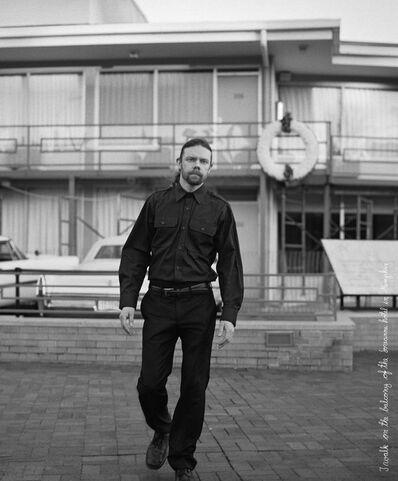 Jari Silomäki, 'We Are The Revolution, after Joseph Beuys: I walk on a balcony of the Lorraine Motel in Memphis', 2006-2013