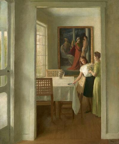 John Koch, 'Interior', ca. 1945