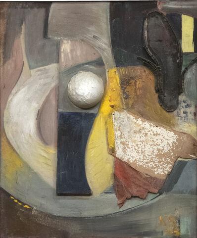 Kurt Schwitters, 'Ohne Titel (Merzbild Mit Schuhsohle)/Untitled (Merz Picture with Shoe Sole)', 1945