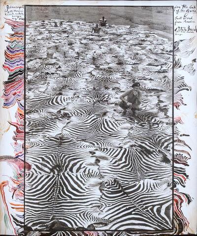 Peter Beard, 'Zebra Carpet @ Ol Morani, Lariak Estate, Kenya', 1960