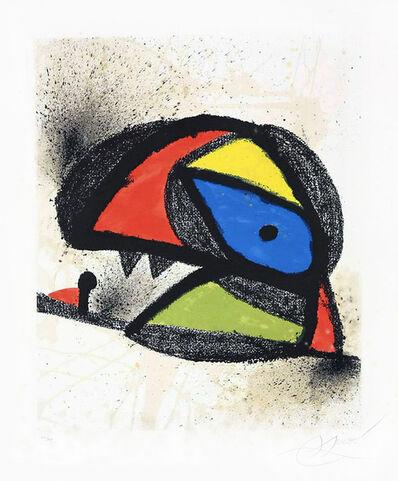 Joan Miró, 'Affiche pour l'exposition 'Homenatge a J. Torres Clavé (Poster for the exhibition 'Homenatge a J. Torres Clavé)', 1980