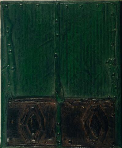 Josep Navarro Vives, 'Puerta verde y negra (Green and black door)', 1961