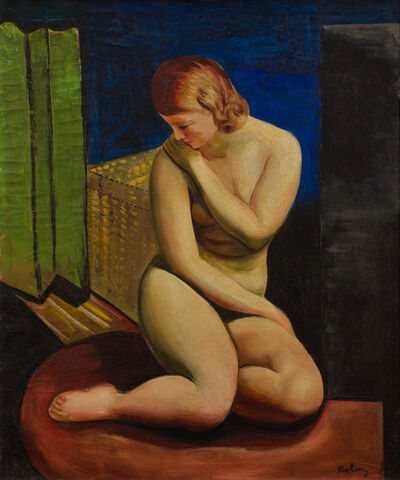 Moise Kisling, 'Femme Nue Assise', 1927