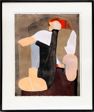 Eduardo Arranz-Bravo, 'Peach (from the Sweerts Suite)', 1990
