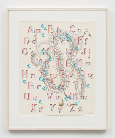 Caitlin Keogh, 'Blank Melody Alphabet', 2019