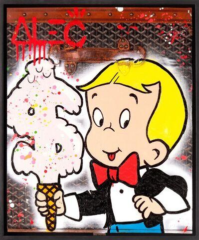 Alec Monopoly, ' Richie Ice Cream Goyard Suitcase', 2019