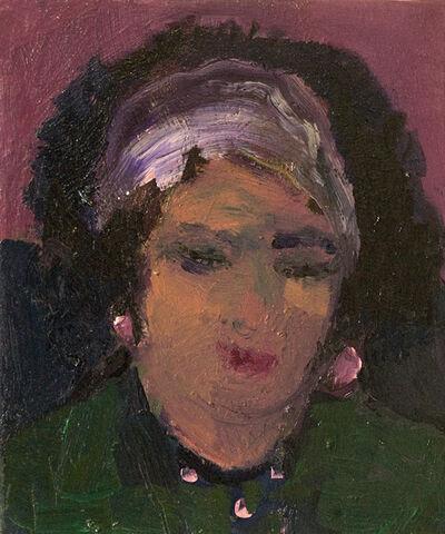 Jennifer Hornyak, 'Head of Woman with Red Lipstick', 2017
