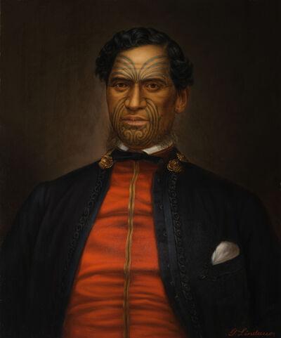 Gottfried Lindauer, 'Major Waata Kukutai', undated