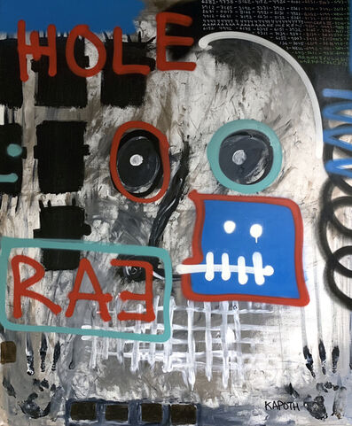 Kapoth, 'Hole', 2018