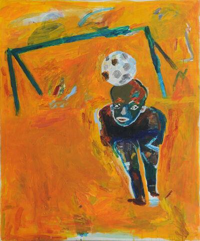 Yaser Safi, 'Greeting to Goal Keeper', 2014