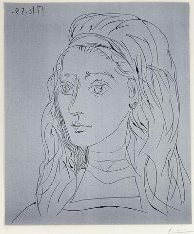 Pablo Picasso, 'Portrait de Jacqueline', 1959