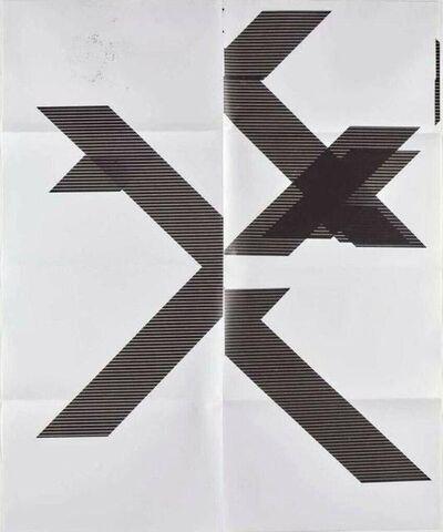 Wade Guyton, 'X (Untitled, WG1210)', 2018