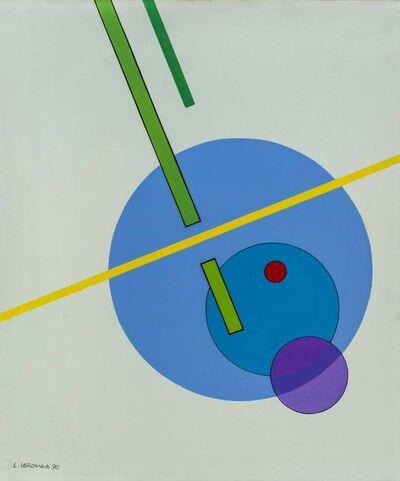Luigi Veronesi, 'Costruzione IOD8', 1990