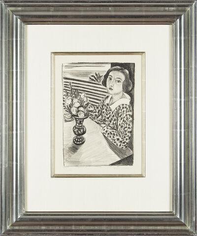 Henri Matisse, 'Jeune Fille assise au Bouquet de Fleurs', 1923