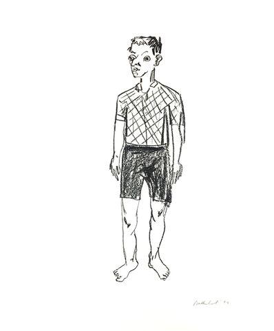 Stephan Balkenhol, 'Kopf mit Zipfelmütze', 1994