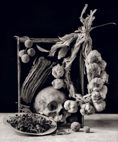 Arkady Lvov, 'Fruits of the Late Fall (Scull, Garlic and Dried Grapes)', 2001