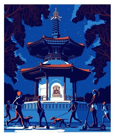 Bill Butcher, 'Battersea Pagoda', 2019