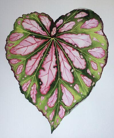 Idoline Duke, 'Big Begonia Leaf', 2019