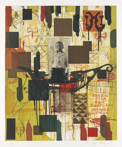 Radcliffe Bailey, 'Until I Die / Minor Keys', 1997