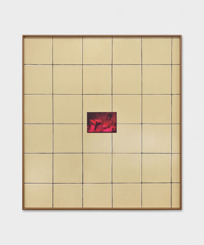 Valentin Carron, 'Wall Tile And Chroma', 2019