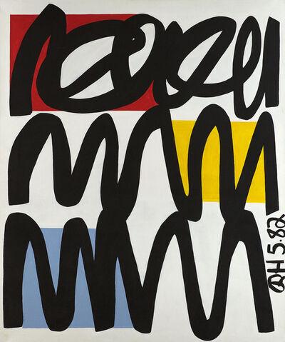Raymond Hendler, 'Who Indeed II', 1982