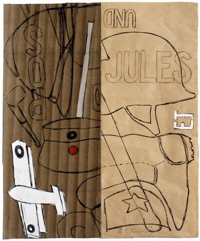 Pierre Buraglio, 'Rosa et/und Jules (EA III)', 2011